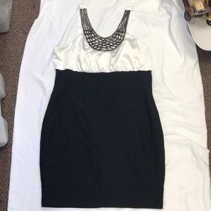 Black and white Torrid Dress